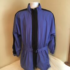Outdoor Adventure Danskin Insulated Jacket  Adult Blue Activewear Large FS!