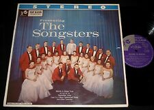 SONGSTERS 1950s TOP RANK LP Stereo 1950s EASY CHORAL LP Nice Cover