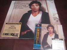 BRUCE SPRINGSTEEN DARKNESS ON THE EDGE JAPAN OBI Replica CD + 180 GRAM VINYL LP