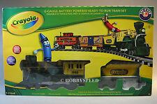 Lionel Crayola Crayon G Gauge Set train g gauge engine cars 7-11548 New