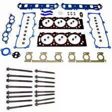 Head Gasket Set + Head Bolts Fits 1999~01 Ford Mazda 3.0L V6