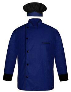 Chef Jacket Chef Coat With Cap Kitchen Chef Designed Uniform Restaurant Dress
