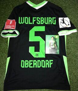 VfL Wolfsburg Frauen Damen Trikot Lena Oberdorf + Autogrammkarte