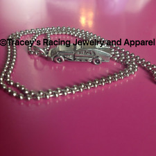 Traceys Racing Jewelry IMCA dirt modified charm necklace  mens or ladies racing