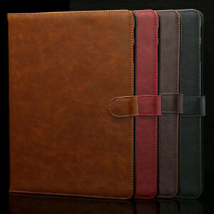 """Leather Case For Samsung Galaxy Tab A 2019 10.1"""" 8.0"""" A7 S2 S6 Lite Tablet Cover"""