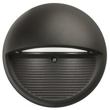 Lithonia Lighting Bronze Integrated LED Round Step and Stair Deck Light