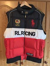 Polo Ralph Lauren RL Racing 2011 Chaqueta Chaleco Acolchado-Raro