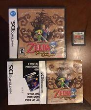 The Legend of Zelda Phantom Hourglass for Nintendo DS 2007 Complete All inserts