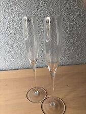 LSA International Handmade 100 ml Grand Champagne Flute Glasses (2)