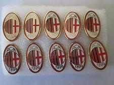 lotto 10 pins lot MILAN FC club spilla football calcio pins broches spille