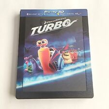Turbo Blu-ray (3D+2D) SteelBook [France] Lenticular Magnet Edition! RARE! MINT!