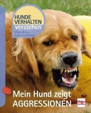 Mein Hund zeigt Aggressionen (Mängelexemplar) von Petra Krivy; Udo Gansloßer NEU