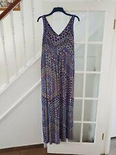 MONSOON  maxi  dress size 16-18 tall