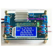DC-DC 5A Adjustable Step-down Module Constant Voltage Current with Case LCD