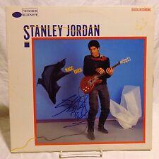 Stanley Jordan Signed Autographed Album E