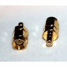 1x SMA male plug to SMB male straight rf connector adapter; US Stock;