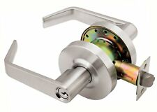 Grade 2 Commercial Duty Classroom Function Keyed Lever Lockset  ADA Satin Chrome