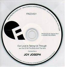 (AB419) Joy Joseph, Our Love Is Taking Us Through DJ CD