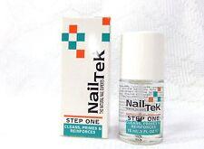 NailTek Nail Treatmen Step One Cleans, Primes, Prep .5oz/15ml