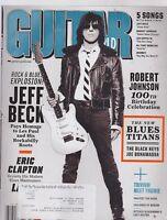APRIL 2011 GUITAR WORLD vintage music magazine JEFF BECK