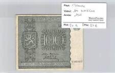 BILLET FINLANDE - 100 MARKKAA 1945