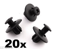 20x Mazda Plastik Rand Klemmen,Radlauf Verkleidungen,Frontscheibe Cowl & Schilde