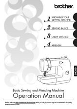 BROTHER LX-3125 Sewing Machine Owner's MANUAL ON CD