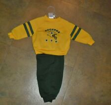 Green Bay Packers sz 12 months NEW outfit  two piece top and pants NEW nwot NFL