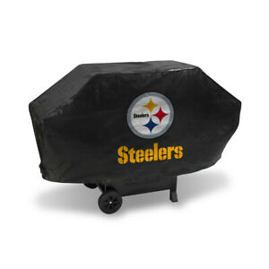 Pittsburgh Steelers BBQ Grill Cover Deluxe