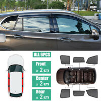6Pcs Windows Sunshade UV Protection Mesh Block Visor Fit For Buick Envision