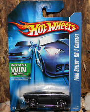 RARE VINTAGE 2007 NEW BOXED HOT WHEELS CAR ALL STARS FORD SHELBY GR-1 CONCEPT BK