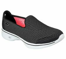 SKECHERS Go Walk 4 Trainers Shoes Black Size UK 5 Ladies US 8