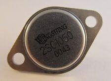 2 Stück 2SC1050 Wingshing TO3 NPN Epitaxial Planar Transistor  2 pcs