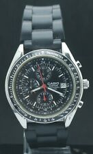 "Casio Edifice EF-503 Tachymeter ""Chronograph"" Men's Excellent Watch Japan Mov't"
