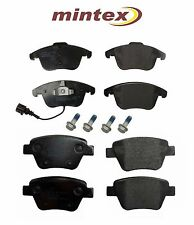 For Volkswagen Passat 2012-2015 Set of Front & Rear Brake Pads Mintex