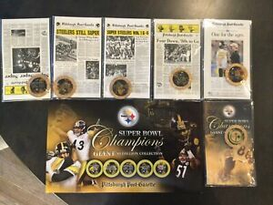 NFL Pittsburgh Steelers 2005 Super Bowl Champions Giant Medallion Collection