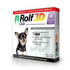 Rolf Club 3D Collar Small & Puppy Dog Prevention & Protect Anti Fleas & Ticks