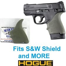 OD GREEN Hogue Rubber HandAll Beavertail Grip Sleeve S&W M&P Shield 9mm 40S&W