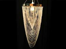 NEW CHANDELIER Lamp Shade - Crystal Twist - 25cm x 35cm