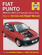 Fiat Punto Petrol & Diesel 1994 - 1999 Haynes Manual 3251