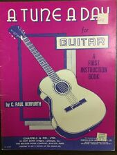 A Tune A Day For Guitar By C. Paul Herfurth
