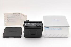 【NEAR MINT in BOX】 MAMIYA RZ67 Pro II 6x7 120 Film Back Holder from JAPAN #1089