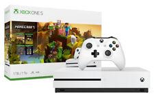 Microsoft Xbox One S 1TB Minecraft Creators Console Bundle - White