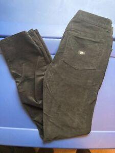 Krew Kr3w Kslims pants jeans cords 34 black corduroy Andrew reynolds