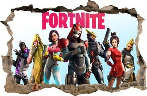 FORTNITE Wall Sickers HOLE IN THE WALL decorative sticker to the room 98
