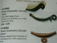 Rare Iron Age / Celtic bronze woad grinder Face paint metal detecting detector