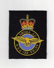 ROYAL AIR FORCE EMBROIDERED BLAZER BADGE - SIZE 80mm x 100mm - NEW