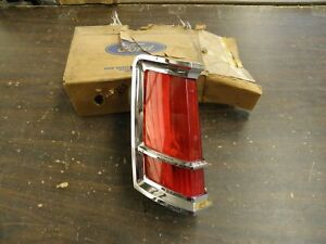 NOS OEM Ford 1970 1971 Lincoln Continental Mark III 3 Tail Light Lamp Lens Bezel