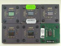 AMD Athlon 750 1000 1200 1333 XP 2400 2600 3000 Vintage CPU socket A/462, GOLD