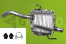 ALFA ROMEO 147 1.6 2.0 Twin Spark 16V 00-08 Silencieux arrière + Kit de montage